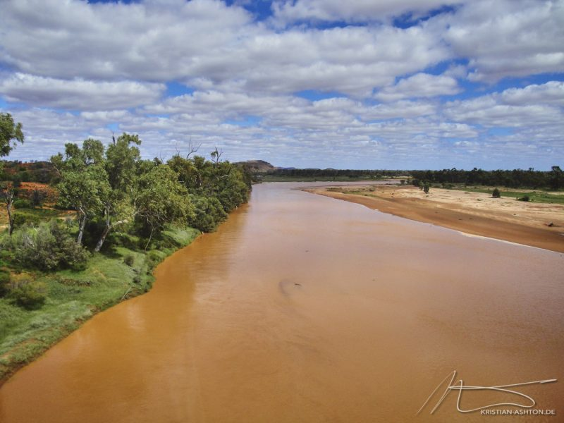 The Finke river - the oldest river in the world