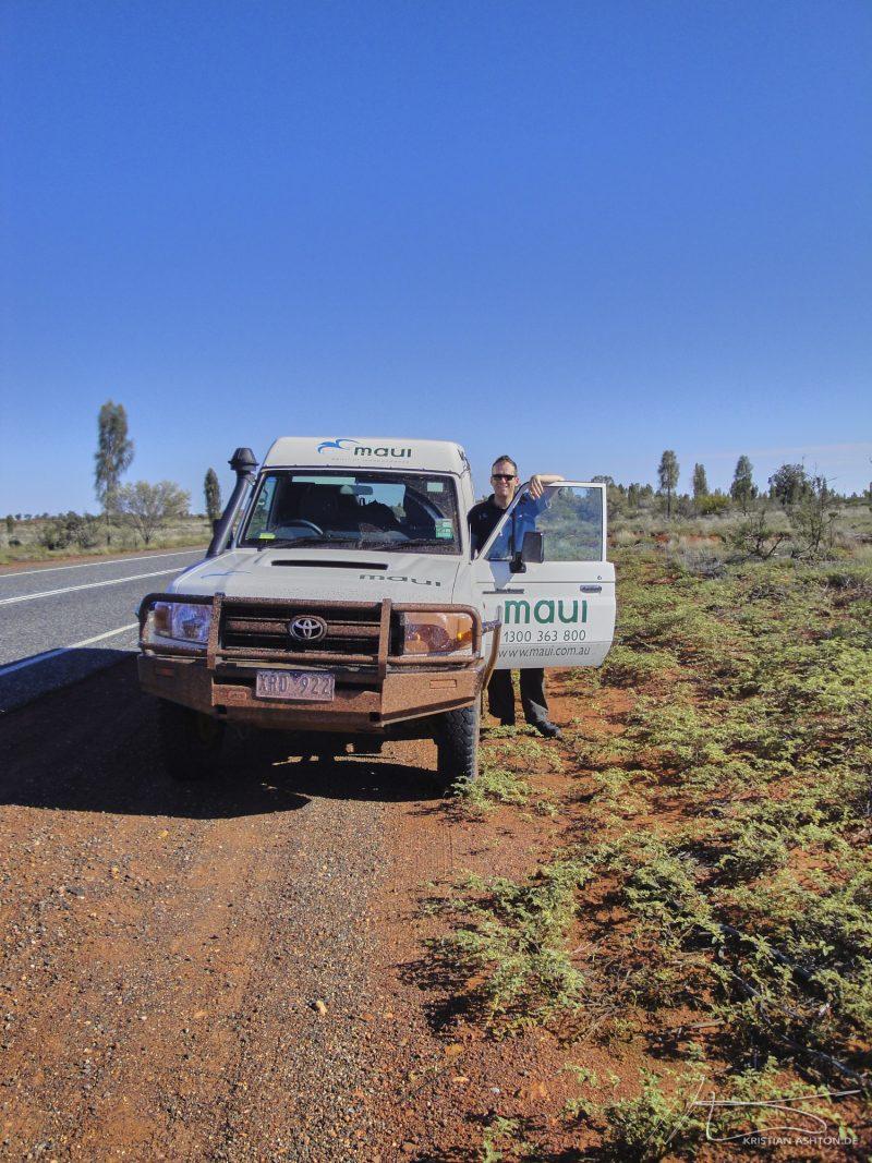 Uluru - on the way to Kata Tjuta