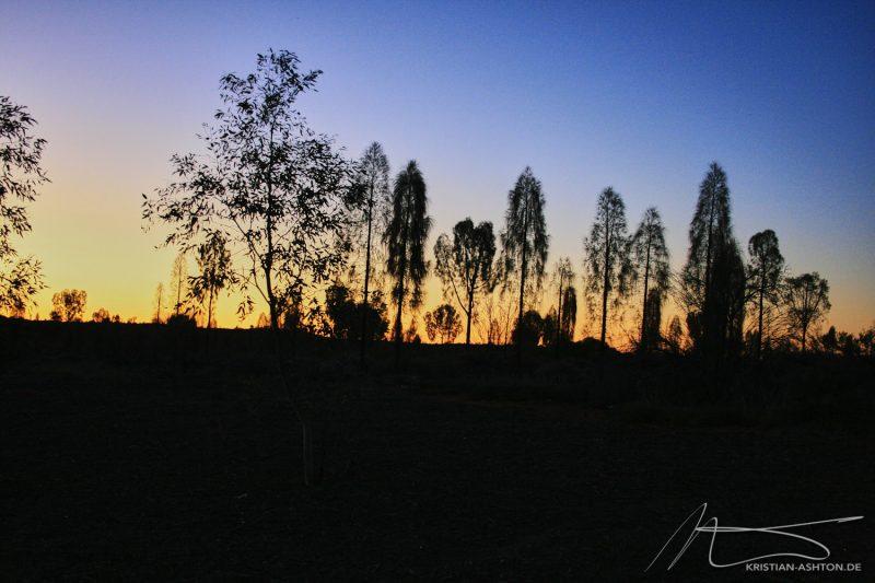 Sunset in Yulara