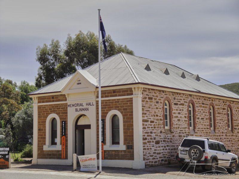 The Flinders Ranges - Blinmal Hall