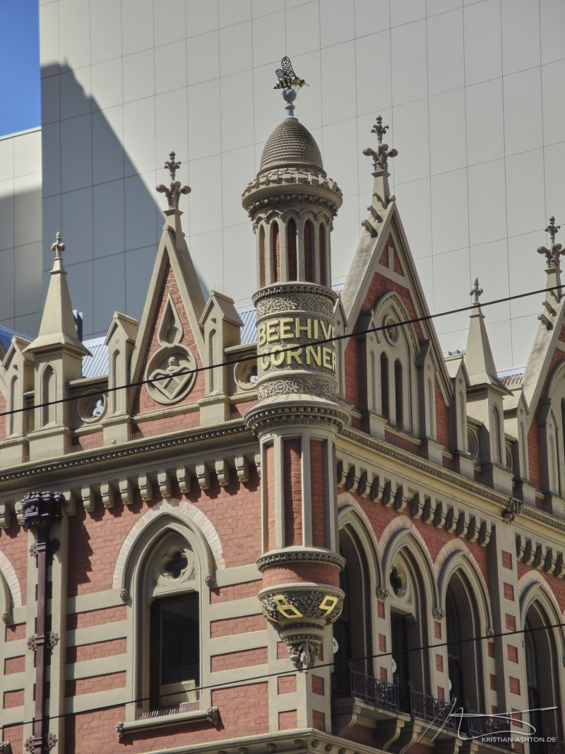 Beehive Corner - a famous building in the city