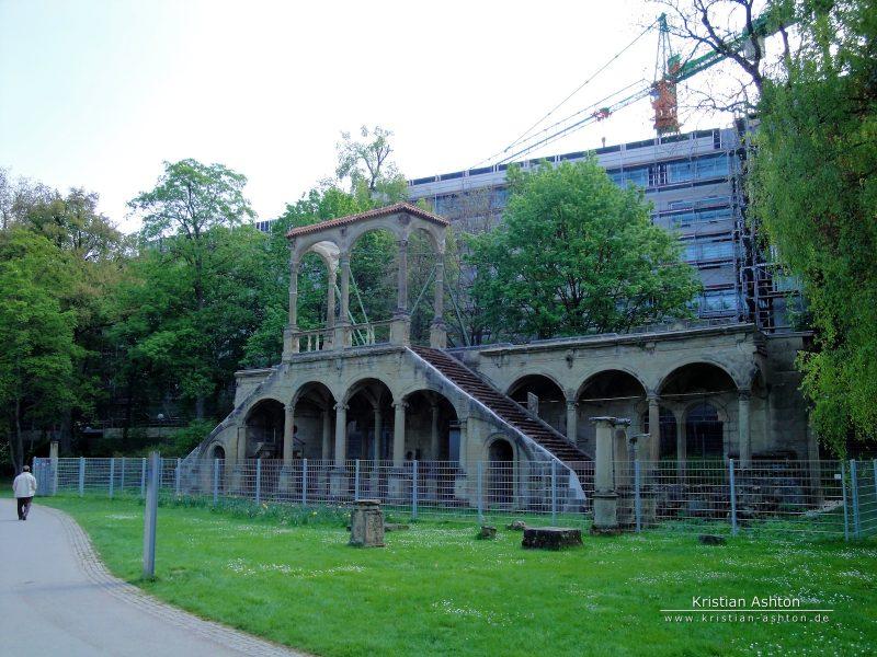 Ruine des Neuen Lusthauses im Schlosspark