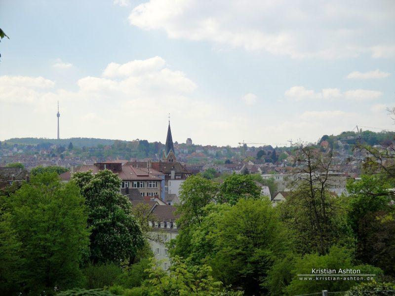 Stuttgart East, suburb Berg
