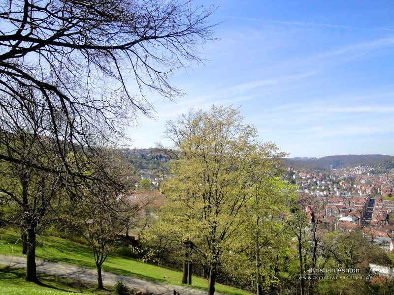 The amazing city of Stuttgart...what a view!
