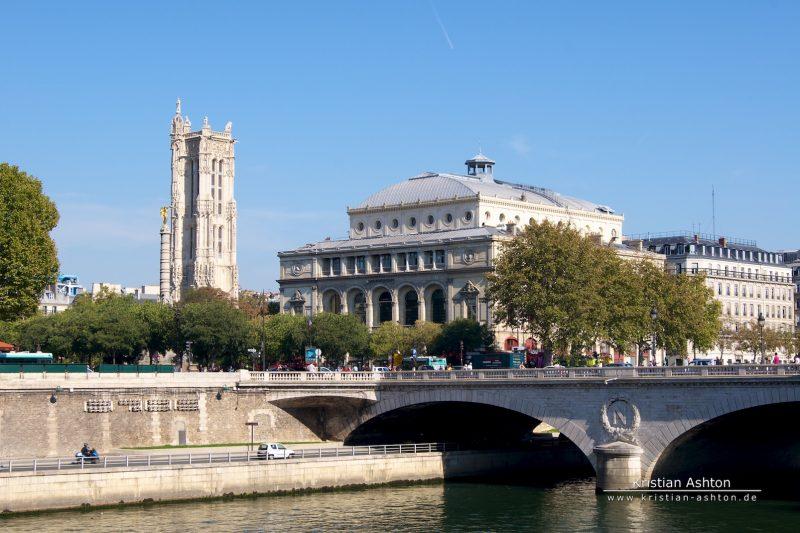 Unterwegs zur Notre-Dame