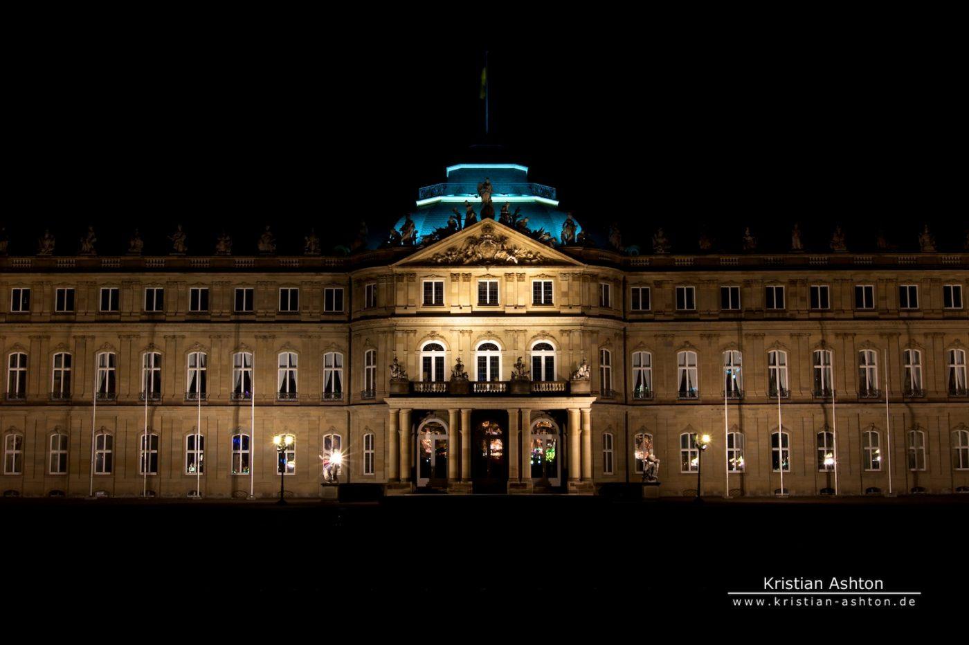 The new castle in the heart of Stuttgart