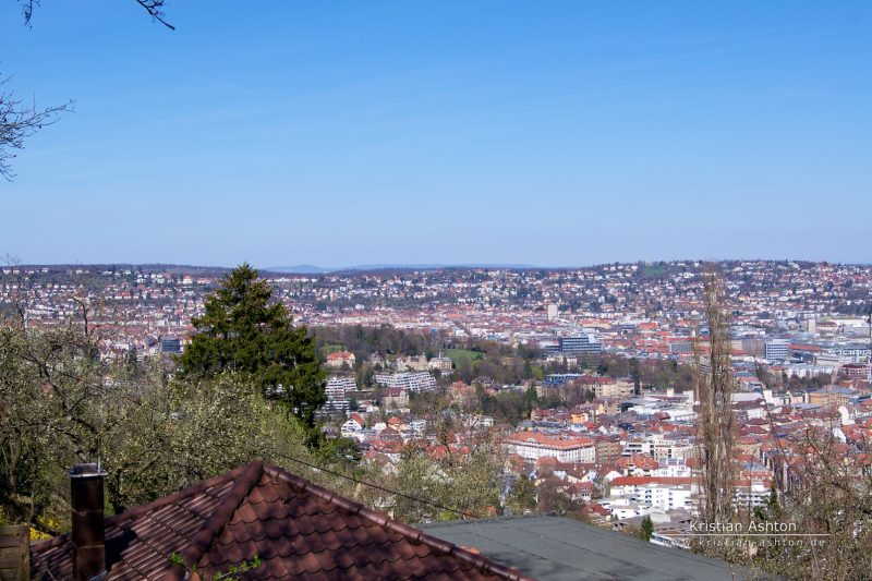 View over Stuttgart