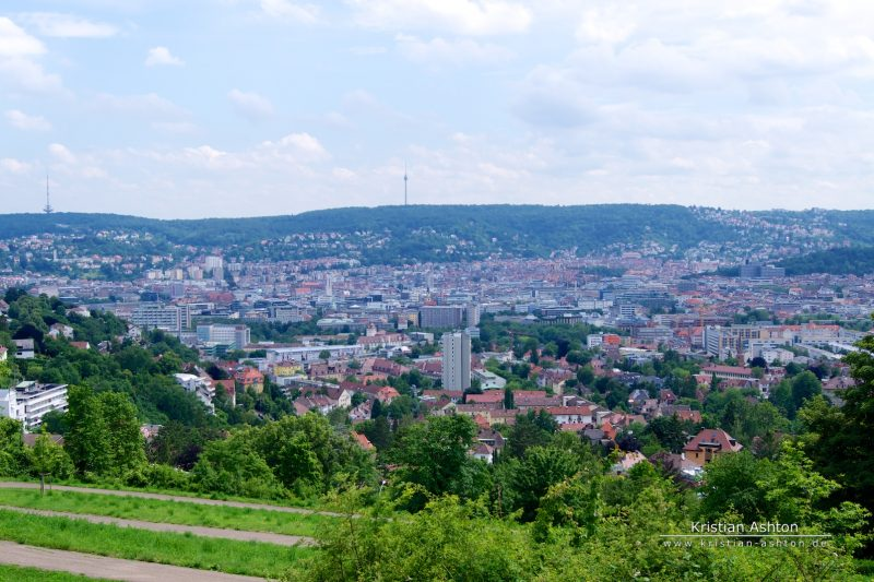 View over Stuttgart from the Bismarck tower