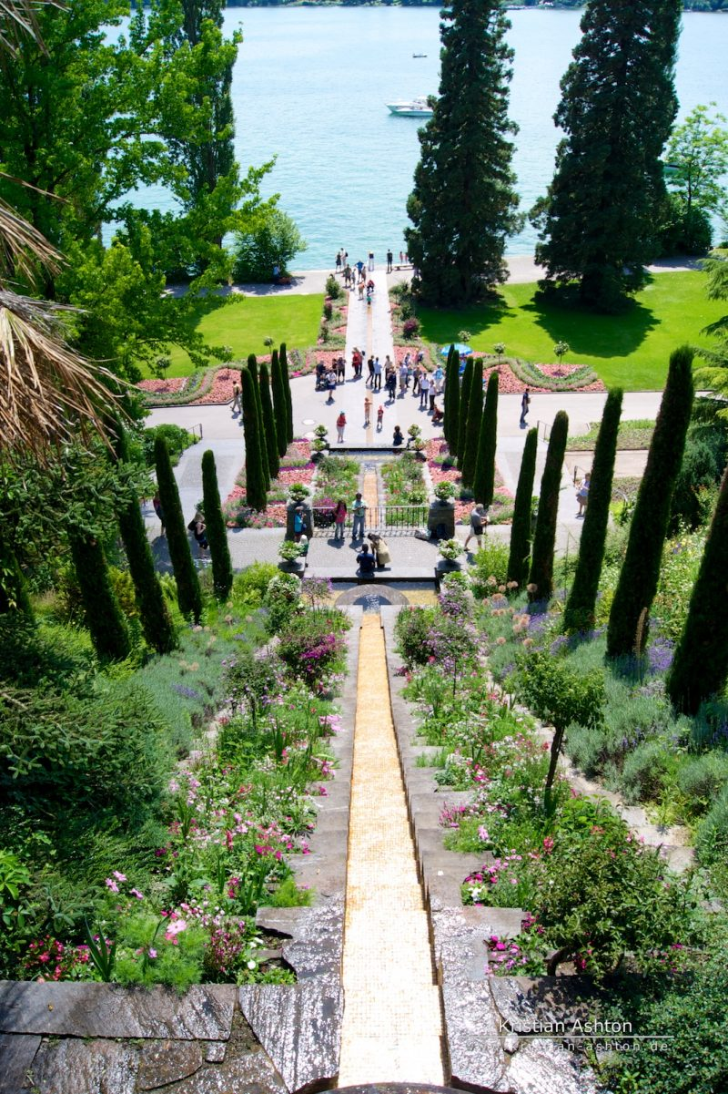 The island Mainau on Lake Constance