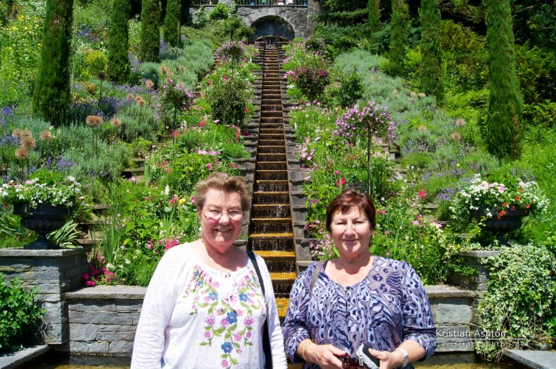 Omi and mum on the island Mainau, Lake Constance