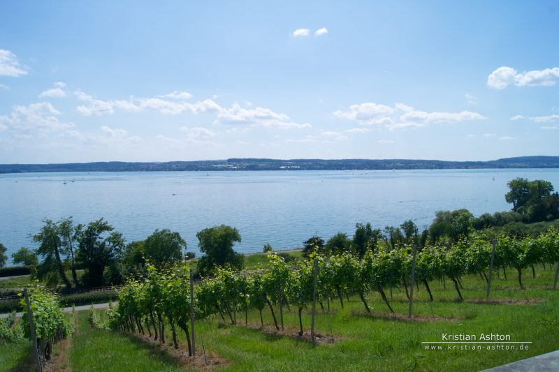 View over Lake Constance from Birnau basilica