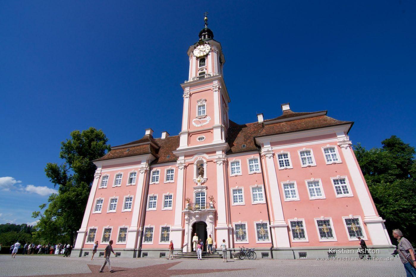 Birnau basilica on Lake Constance