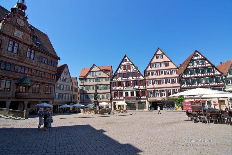 The Tübingen market square