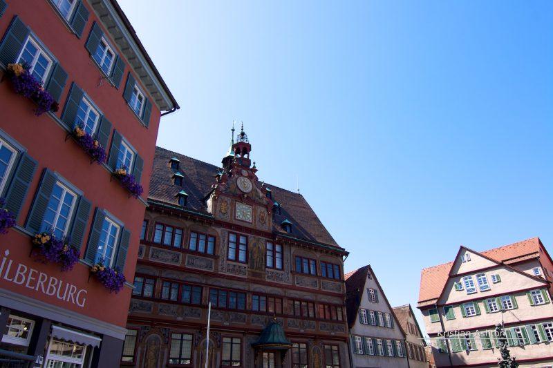 The Tübingen town hall