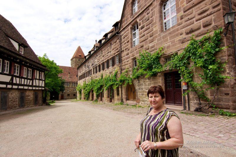 Mum at Maulbronn monestary