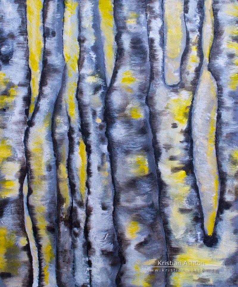 """""""Birke"""" (Birch) by Wal-Art"""