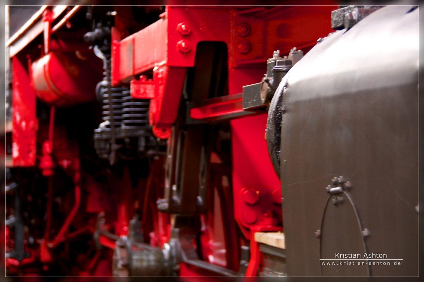 Goods steam loco BR50 - 3636