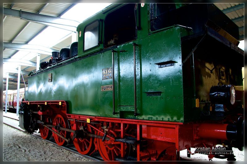 Steam loco no. 16 of the GES
