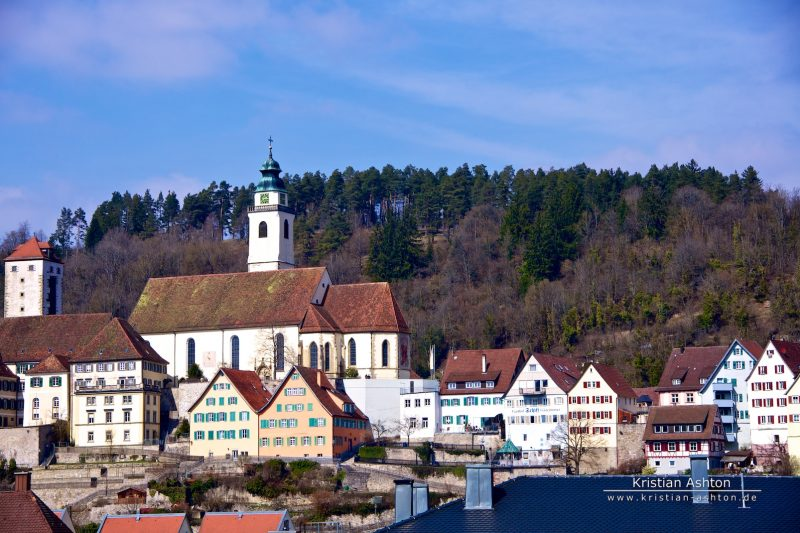 Horb on the river Neckar
