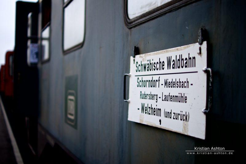Coach of the Swabian Forest-Railway