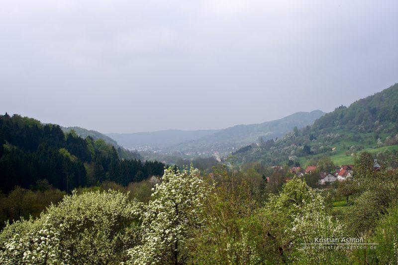Views along the Swabian Forest-Railway