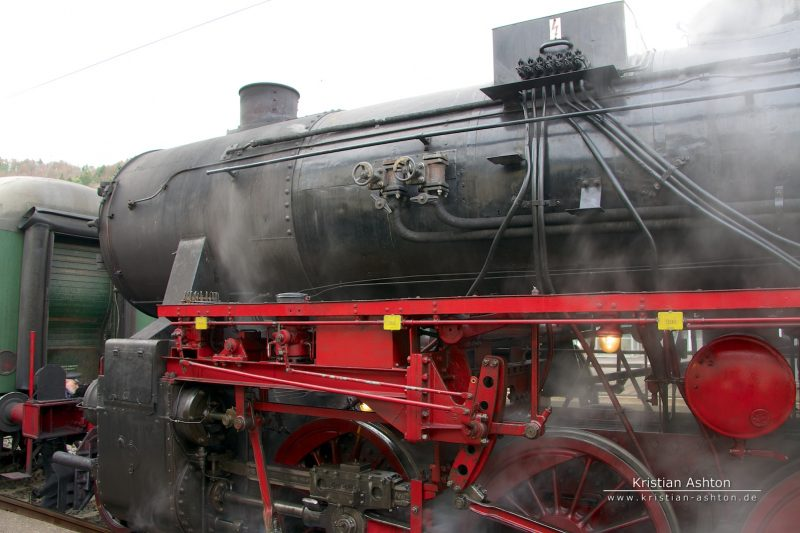 Goods steam locomotive 52 7596
