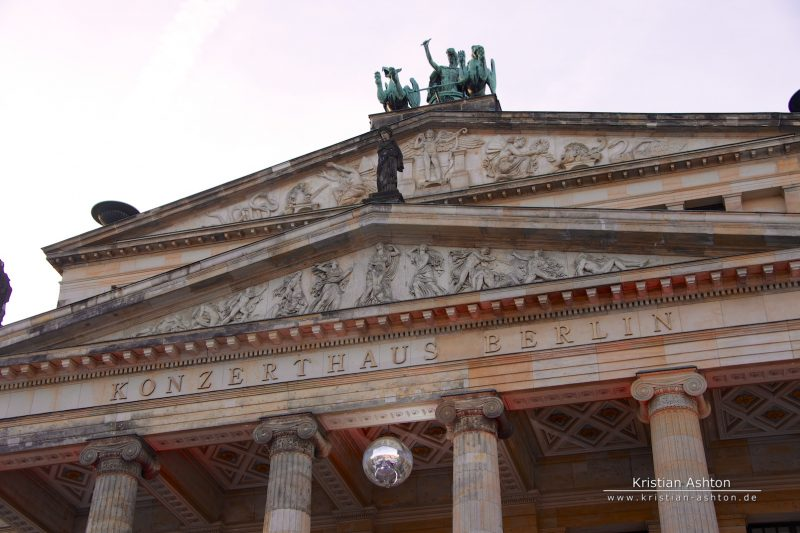 Berlin - Gendarmenmarkt - the Berlin music hall