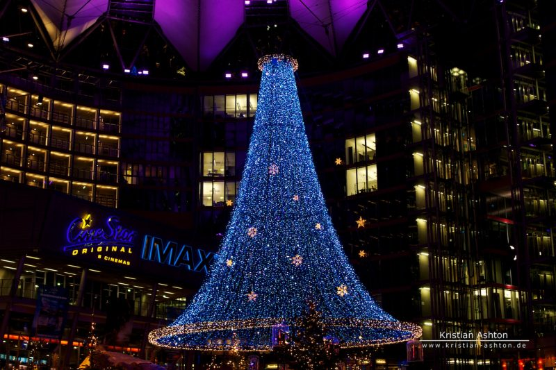 Berlin - The Sony Centre on Potsdamer Platz