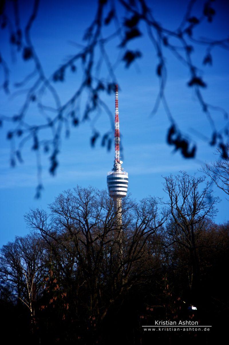 The landmark of Stuttgart - the TV tower