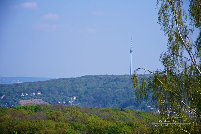The landmark of Stuttgart - the television tower