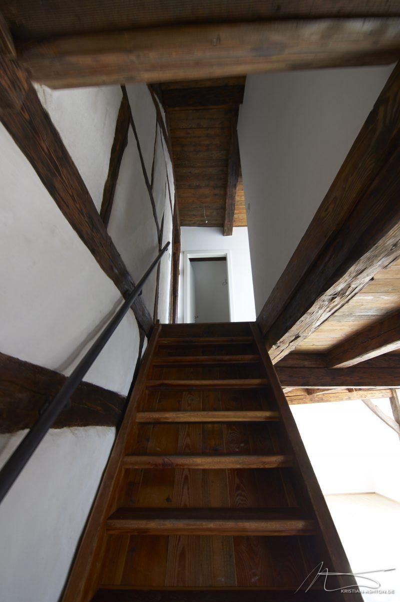 A glance upstairs