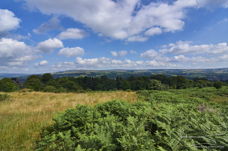 Ilkley - Walk to lookout point
