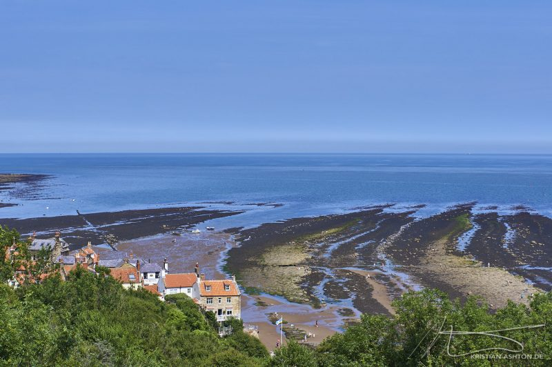 Robin Hood's Bay - View across the bay