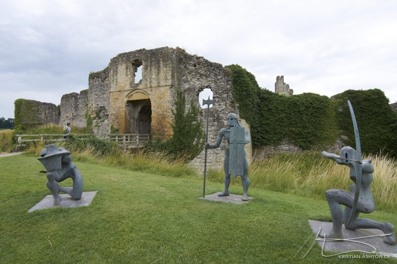 The medieval Helmsley Castle