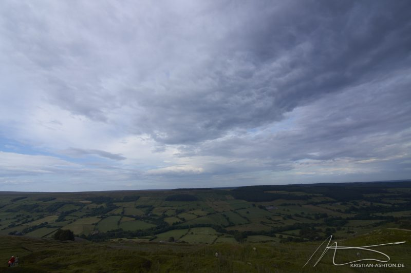 North York Moors - a beautiful landscape by Rosedale Chimney Bank