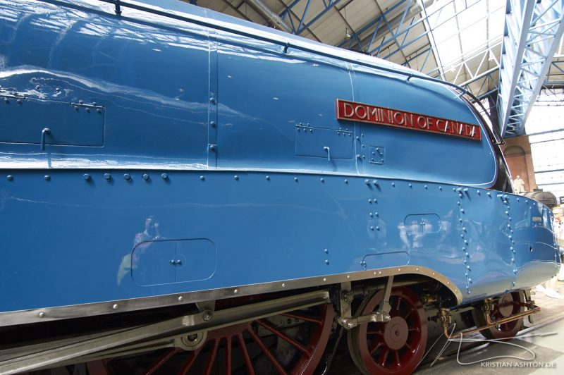 "National Railway Museum York - A4 Pacific ""Dominion of Canada"""