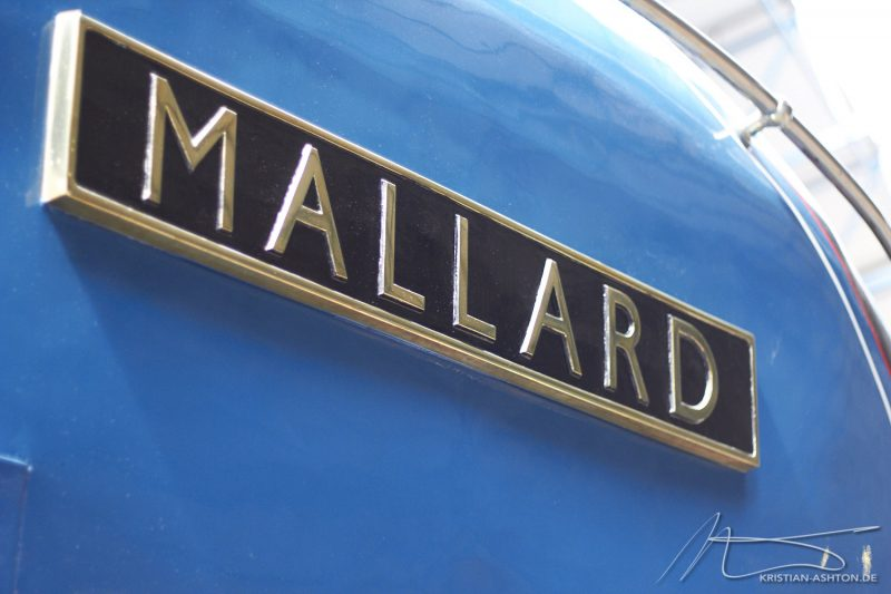 "National Railway Museum York - A4 Pacific ""Mallard"" - the world's fastest steam locomotive"