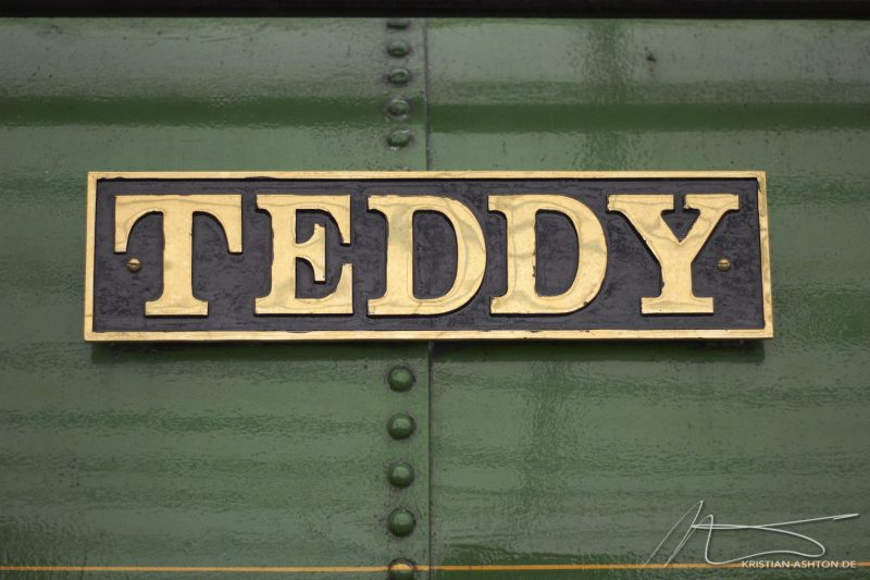 "National Railway Museum York - Steam locomotive ""Teddy"""