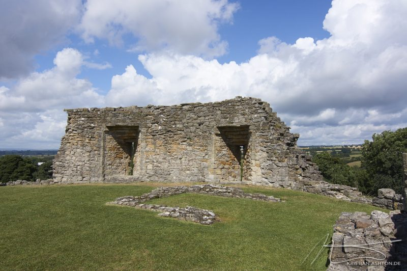 Pickering Castle - The ruins of an 11th century fortress