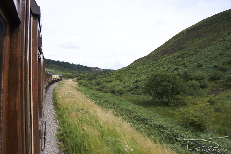 North Yorkshire Moors Railway - trip between Grosmont and Pickering