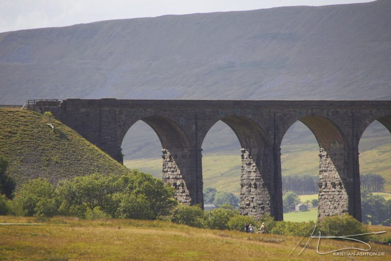 Ribblehead Viaduct - the longest railway viaduct on the Settle-Carlisle Railway
