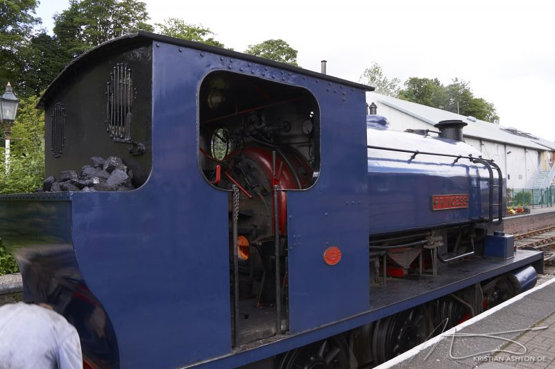 "Lakeside & Haverthwaite Railway - steam loco ""Princess"""