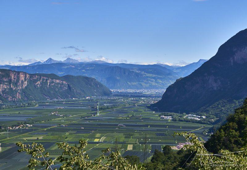 View across the Etsch valley