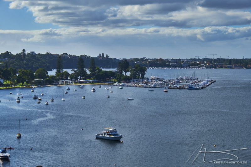 View across Mosman Bay from Mosman Park