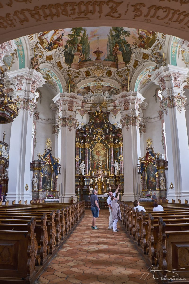 Pilgrimage Church Steinhausen - the most beautiful village church in the world