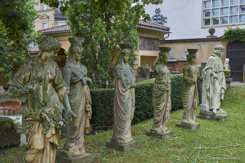 The Stuttgart city Lapidarium