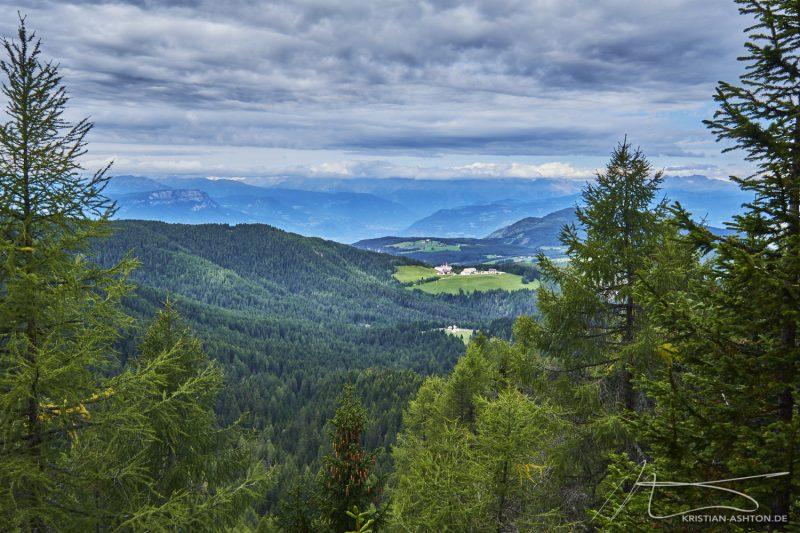 Almenwanderung - Blick Richtung Maria Weißenstein