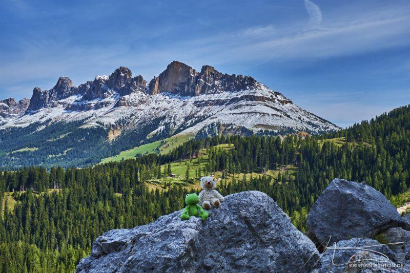 "Hike along the Latemar ""Labyrinth Climb"""