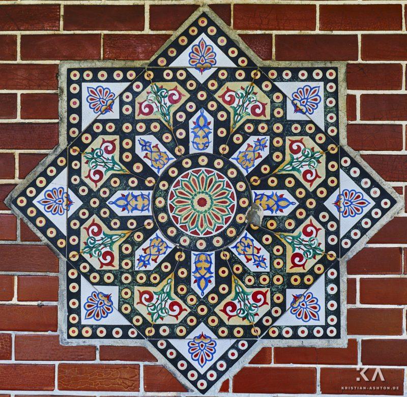 In the Moorish garden of the Wilhelma