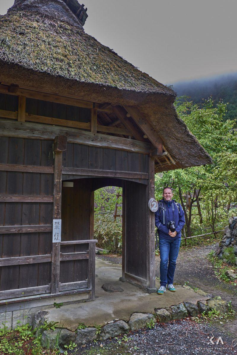 Ralph at the open-air museum Iyashi no Sato